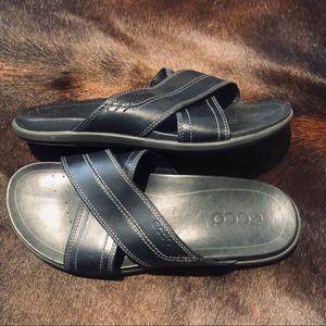 Ecco leather sandals